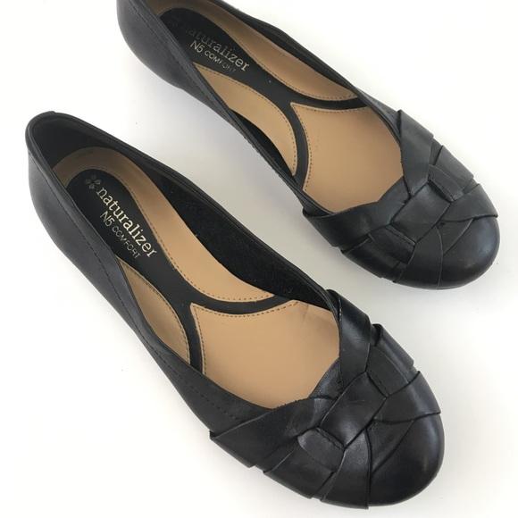 Naturalizer N5 Comfort Flat Black